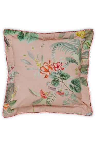 Cushion square Floris Pink