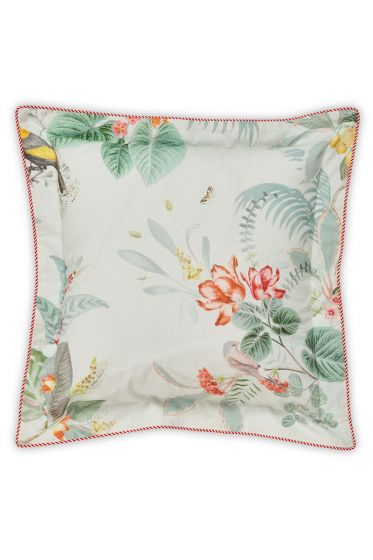 Cushion square Floris White