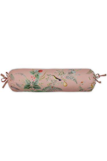 Neck roll Floris Pink