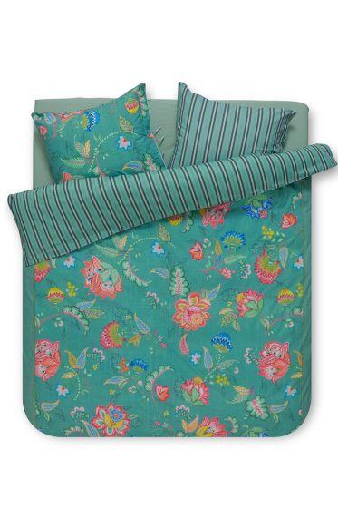 Bettbezug Jambo Flower Grün
