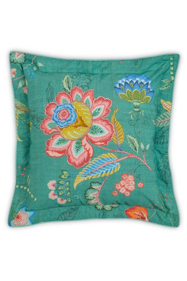 Cushion square Jambo Flower Green
