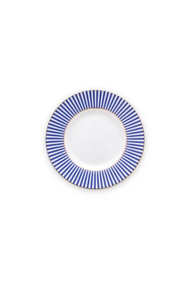 plate-royal-stripes-12-cm-6/48-blue-white-pip-studio-51.001.243