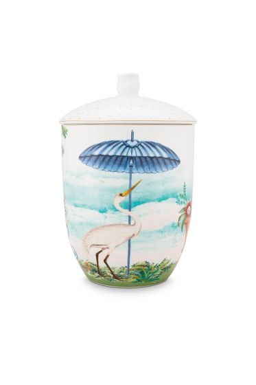 porcelein-storage-jar-joilie-heron-1,5-l-1/8-blau-bird-beach-sun-51.009.031
