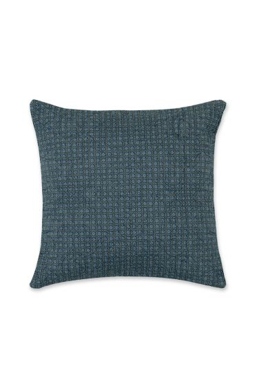 Cushion square Quilty Night Dark blue