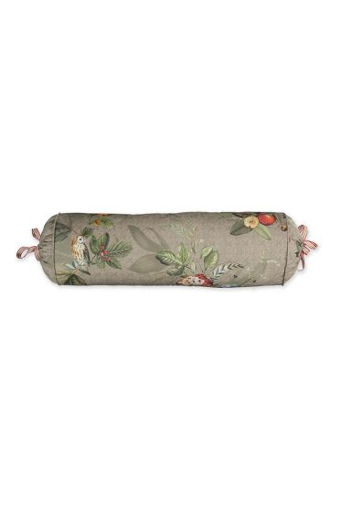 cushion-khaki-floral-neck-roll-cushion-decorative-pillow-fall-in-leave-pip-studio-22x70-cotton