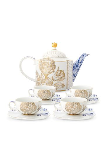 royal-tea-set-of-5-white-pip-studio-51020116