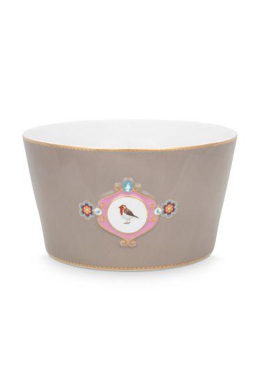 bowl-love-birds-in-khaki-with-bird-20-cm