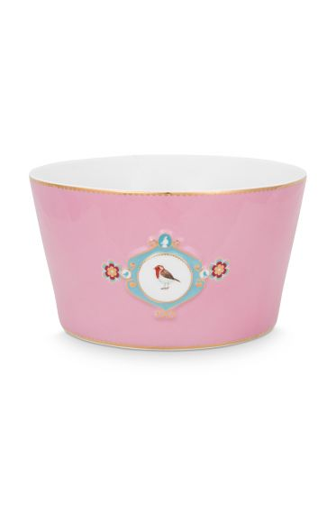 bowl-love-birds-in-pink-with-bird-20-cm