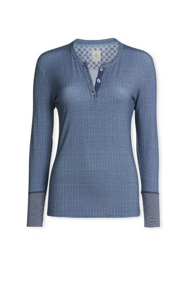 Top Long sleeve Kamini Blue