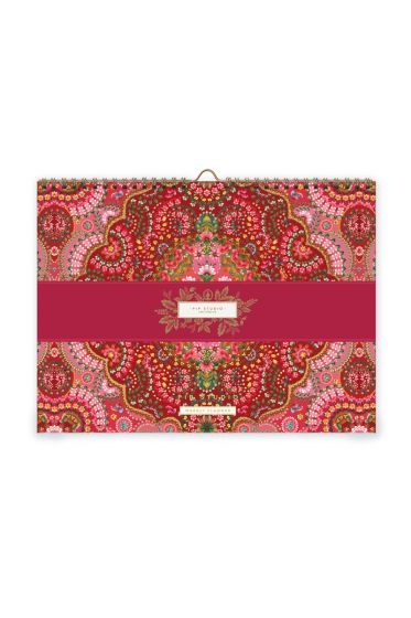 weekly-planner-2-moon-delight-with-flower-print-red