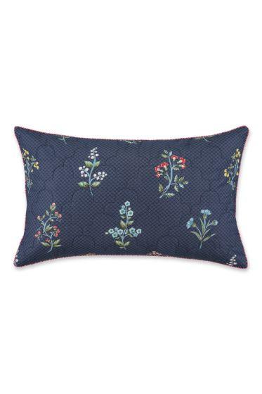 Cushion rectangle Quilted Wonderland Dark blue