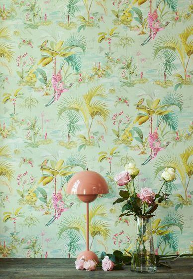 wallpaper-non-woven-vinyl-paradise-bird-palms-green-pip-studio-palm-scene