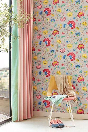 wallpaper-non-woven-vinyl-flowers-light-taupe-pip-studio-floral-fantasy