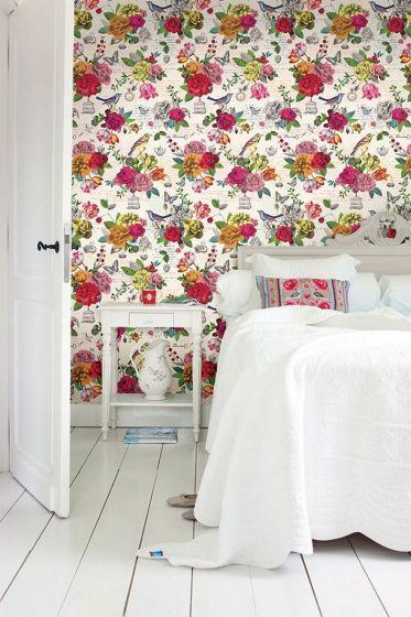 wallpower-non-woven-flowers-pink-multicolour-pip-studio-flowers