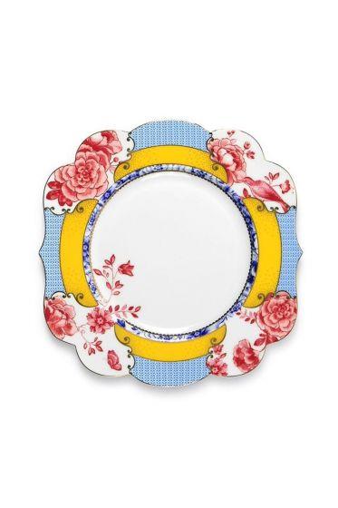 Royal frühstücksteller mehrfarbig 23,5 cm