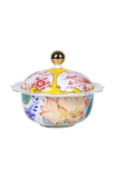 Royal sugar bowl multicoloured