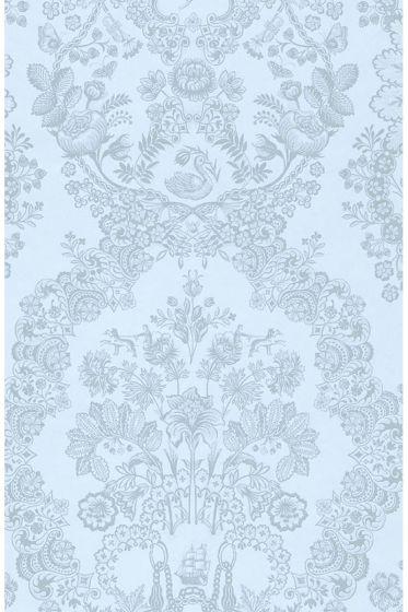 wallpaper-non-woven-vinyl-flowers-bird-light-blue-pip-studio-lacy-dutch