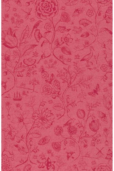 behang-vliesbehang-bloemen-rood-roze-pip-studio-spring-to-life-two-tone