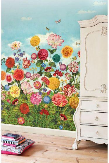 fototapete-vliestapete-blumen-multicolour-pip-studio-wild-flowerland