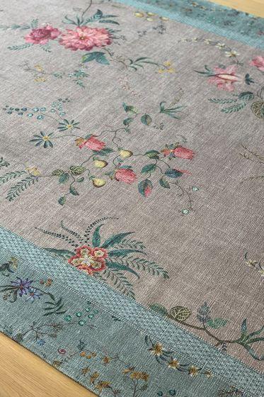 Carpet Fleur Grandeur by Pip Blue/Khaki