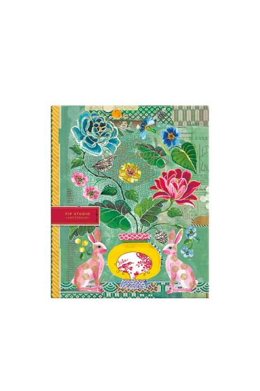 Telling Tales blue 2-ring A4 ring binder
