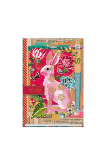 Notizbuch A4 liniert Telling Tales rosa