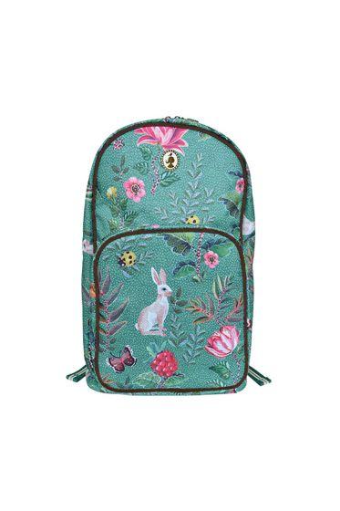 Telling Tales blue backpack