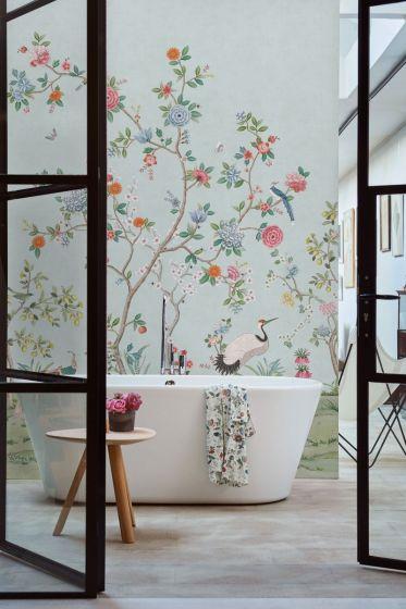 wallpower-non-woven-flowers-light-blue-pip-studio-good-morning