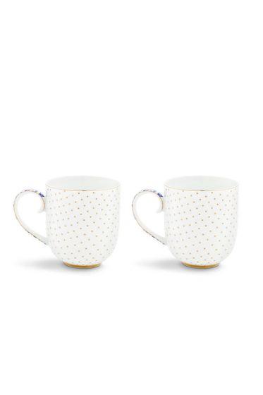 Royal White Set of 2 mugs small