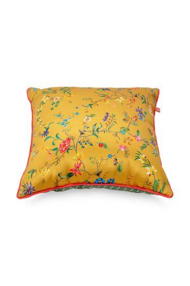 Kussen-bloemen-geel-vierkant-petites-fleurs-40x40-cm