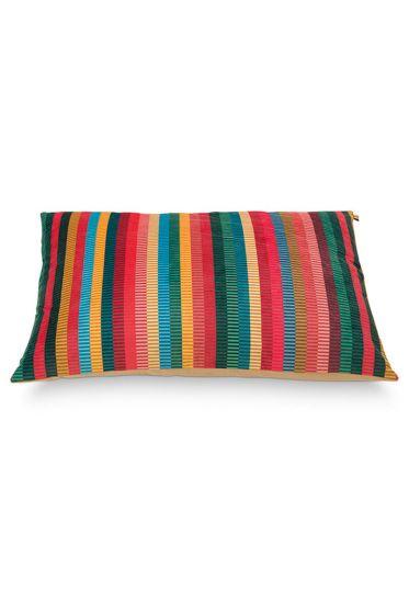 Cushion-stripes-multi-colour-rectangle-jacquard-stripe-pip-studio-50x70-cm