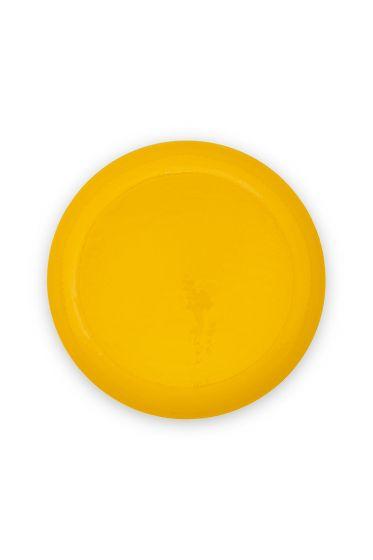 metal-tray-enamelled-light-yellow-gold-blushing-birds-pip-studio-40-cm