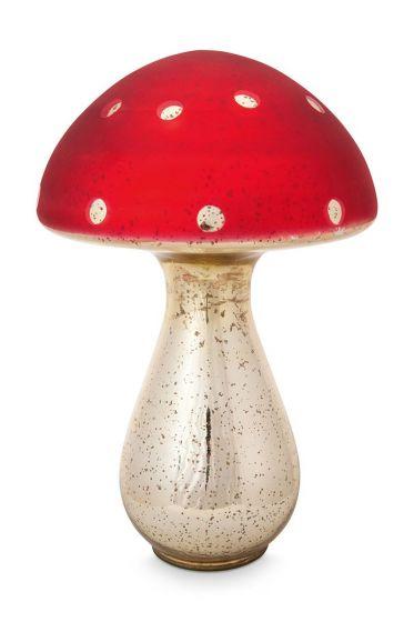 Pilz-decoration-rot-glas-pip-studio-40-cm