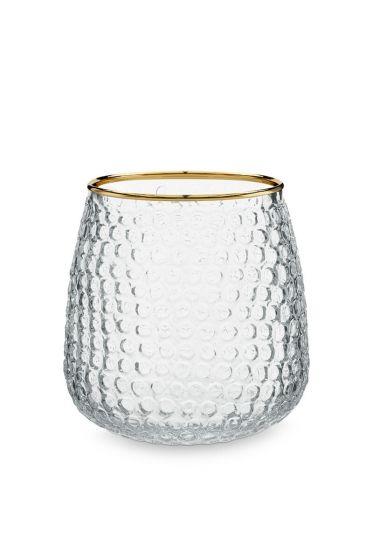 Glass-tea-light-holder-gold-edge-home-décor-pip-studio-9,5x10-cm