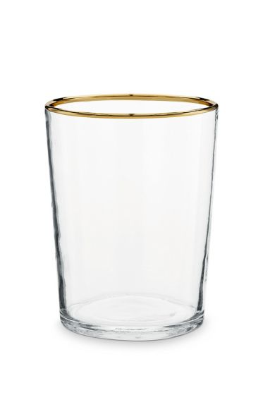 Glas-waxinelichthouder-gouden-rand-woon-decoratie-pip-studio-7,5x12-cm