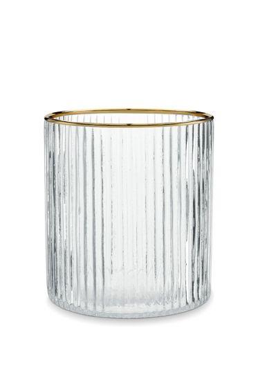 Glas-waxinelichthouder-gouden-rand-woon-decoratie-pip-studio-10x11-cm