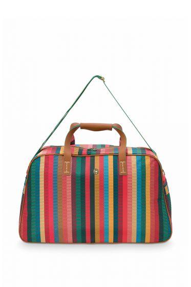 Reis-tas-multi-colour-jacquard-stripe-pip-studio-57x22x37-cm