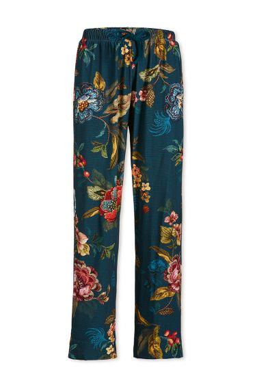 Lange Hose Poppy Stitch Blau