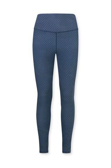 Sport-leggings-trousers-long-blue-lace-flower-pip-studio-xs-s-m-l-xl-xxl