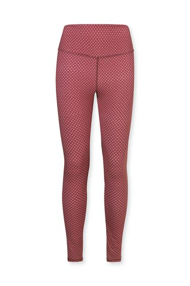 Sport-legging-lange-broek-rood-lace-flower-pip-studio-xs-s-m-l-xl-xxl