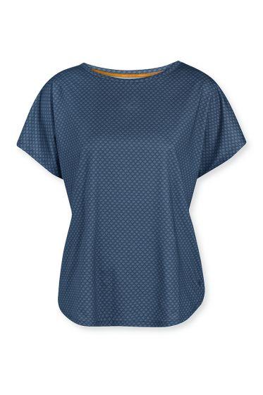 Sport-top-short-sleeve-blue-lace-flower-pip-studio-xs-s-m-l-xl-xxl