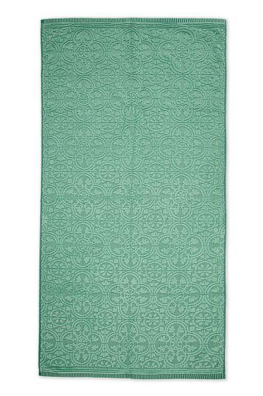 Towel-XL-baroque-print-green-70x140-pip-studio-tile-de-pip-cotton