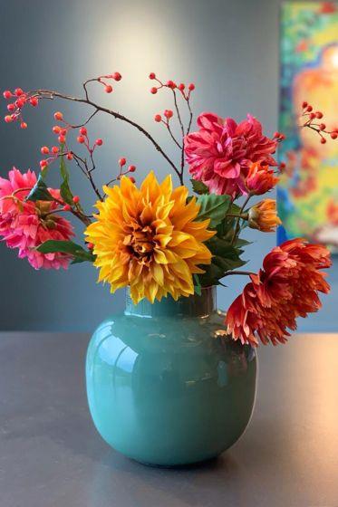 Cheerful Dahlia Pip Flowers