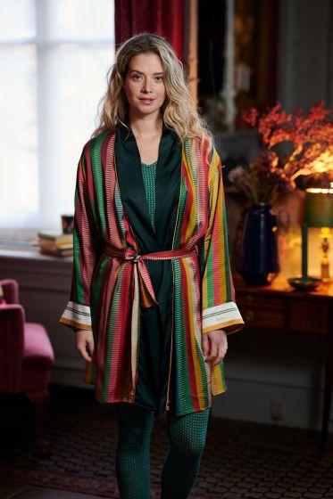 Kimono-lange-mouwen-gestreept-print-multi-colour-jacquard-stripe-pip-studio-xs-s-m-l-xl-xxl