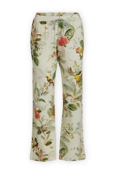 Trousers Long Floris Off White