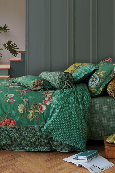 Bettbezug Poppy Stitch Grün