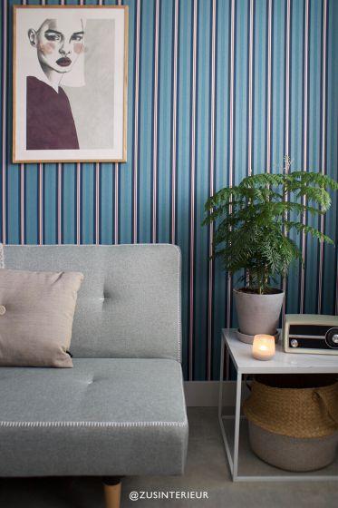 Behang-vlies-behang-vinyl-gestreept-donker-blauw-pip-studio-blurred-lines