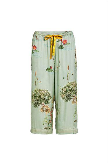 Bodyl-3/4-trousers-swan-lake-big-light-green-woven-pip-studio-51.502.019-conf