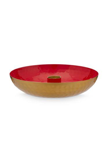 metaal-kaarsenhouder-klein-rood-pip-studio-16-cm