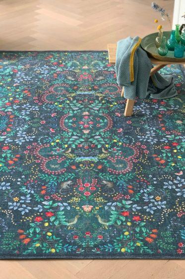 Vloerkleed-tapijt-blauw-bohemian-jungle-animals-pip-studio-155x230-200x300